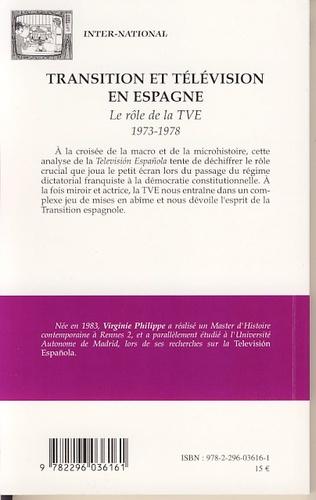 4eme Transition et télévision en Espagne