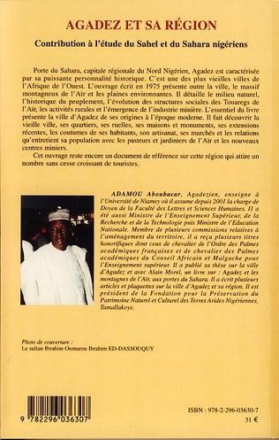 4eme Agadez et sa région