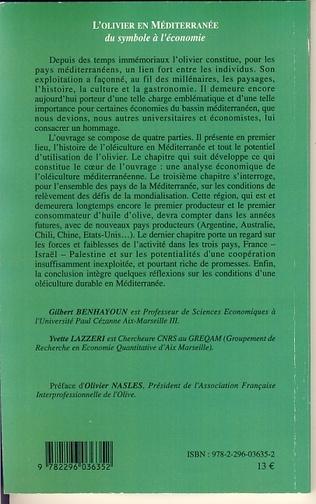 4eme L'olivier en Méditerranée