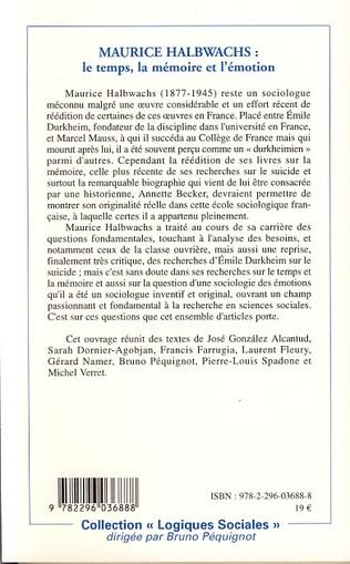 4eme Maurice Halbwachs
