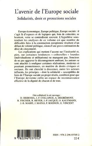 4eme L'avenir de l'Europe sociale
