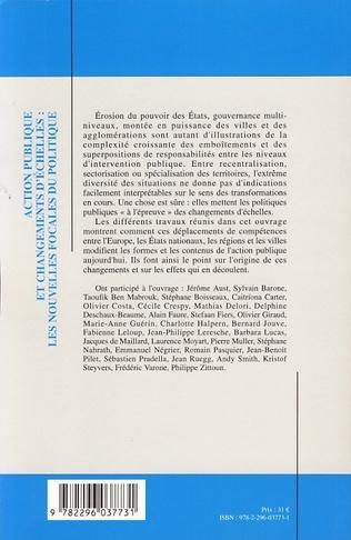 4eme QUAND LA MÉTROPOLE SE FAIT TERRITOIRE POLITIQUE LES RESSORTS POLITIQUES ET SYMBOLIQUES DU CHANGEMENT D'ECHELLE DE LA COOPERATION INTERCOMMUNALETaoufik Ben Mabrouk