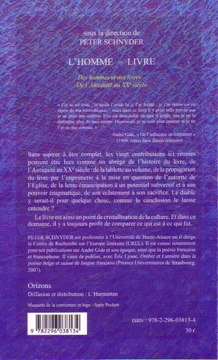4eme L'homme-livre