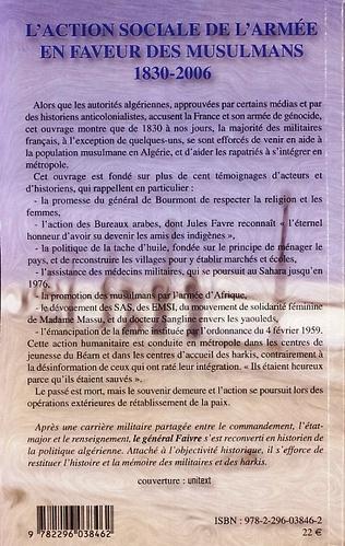 4eme L'action sociale de l'armée en faveur des musulmans