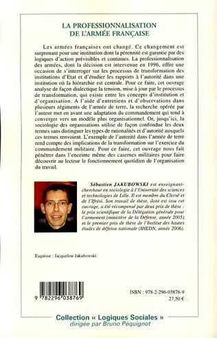 4eme La professionnalisation de l'armée française