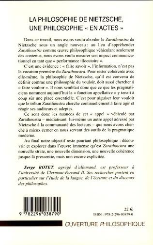 4eme La philosophie de Nietzsche, une philosophie