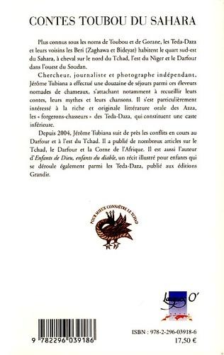 4eme Contes Toubou du Sahara