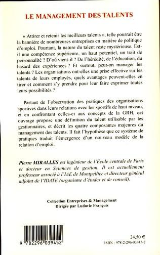 4eme Le management des talents
