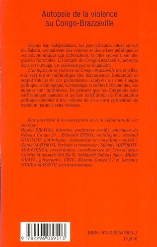 4eme Autopsie de la violence au Congo-Brazzaville