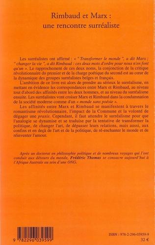 4eme Rimbaud et Marx : une rencontre surréaliste