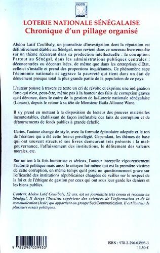 4eme Loterie nationale sénégalaise