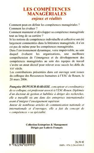 4eme Les compétences managériales