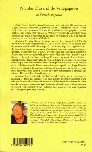 4eme Nicolas Durand de Villegagnon