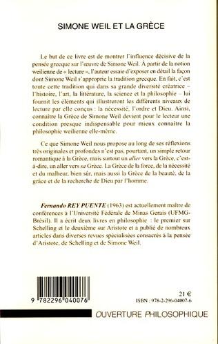 4eme Simone Weil et la Grèce