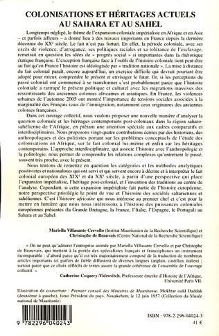 4eme Les producteurs de l'histoire mauritanienne