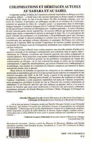 4eme Les réponses et les fatâwâ des érudits Bidân face à l'occupation coloniale française en Mauritanie