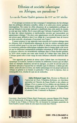 4eme Ethnies et société islamique en Afrique, un paradoxe ?