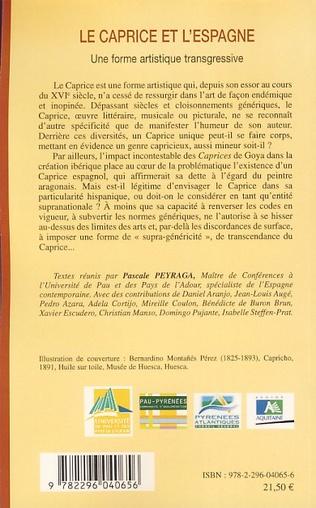 4eme Le caprice et l'Espagne