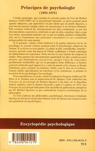 4eme Principes de psychologie (volume 2)