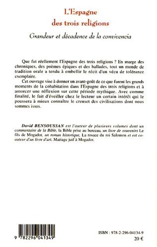 4eme L'Espagne des trois religions