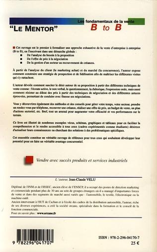 4eme Les fondamentaux de la vente Business to Business