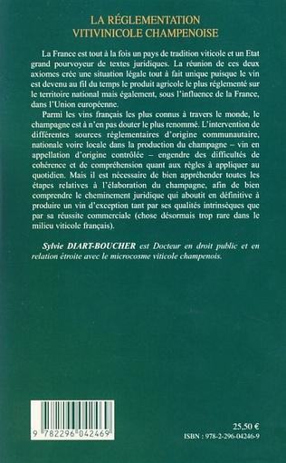 4eme La réglementation vitivinicole champenoise