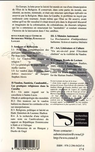4eme Vaudou, Santéria, Candomblé...