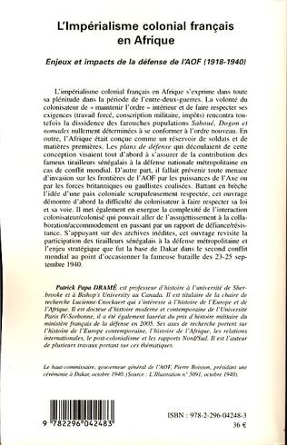 4eme L'impérialisme colonial français en Afrique