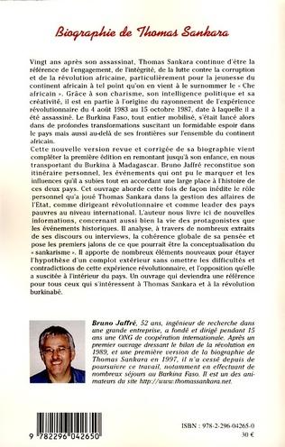4eme Biographie de Thomas Sankara