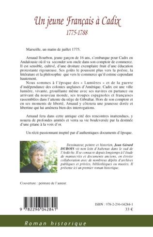 4eme Un jeune Français à Cadix