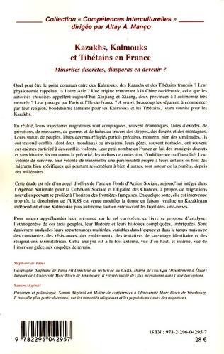 4eme Kazakhs, Kalmouks et Tibétains en France