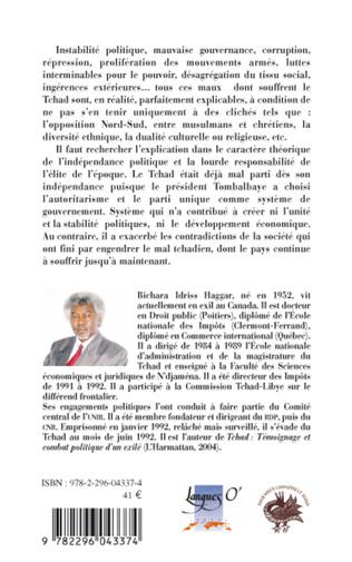 4eme François Tombalbaye 1960-1975