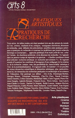 4eme Pratiques artistiques / Pratiques de recherche