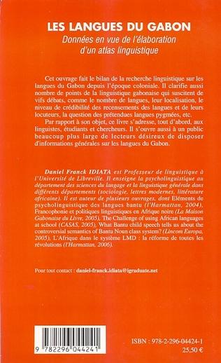 4eme Les langues du Gabon