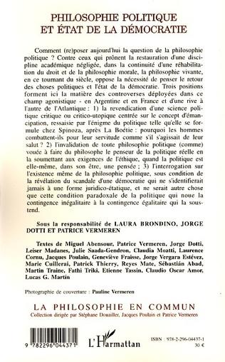 4eme Philosophie politique et état de la démocratie