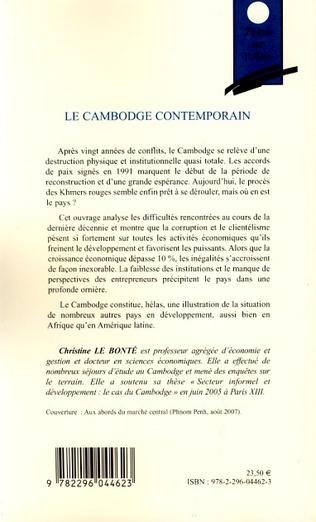 4eme Le Cambodge contemporain