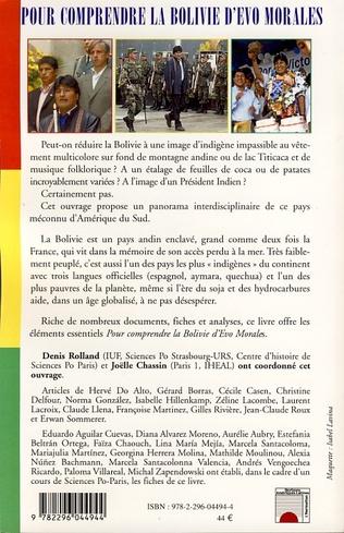 4eme Pour comprendre la Bolivie d'Evo Morales