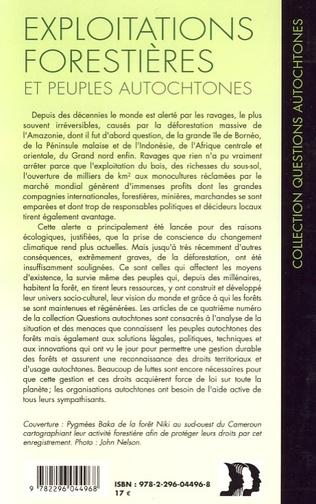 4eme Exploitations forestières et peuples autochtones