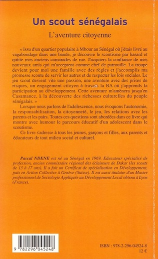 4eme Un scout sénégalais