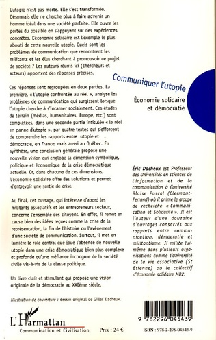 4eme Les difficultés de communication de l'économie solidaire