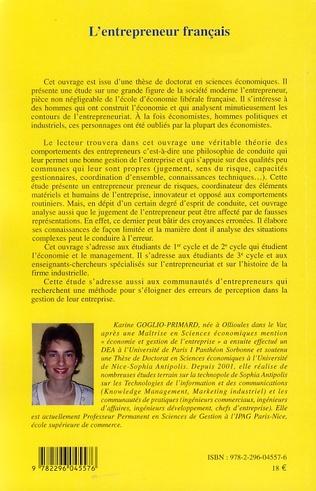 4eme L'entrepreneur français
