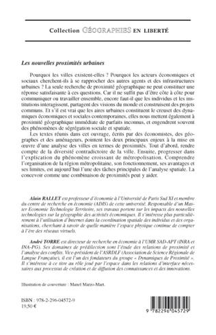 4eme LES PROJETS DE REGENERATION URBAINE OU COMMENT RECREER LA PROXIMITE