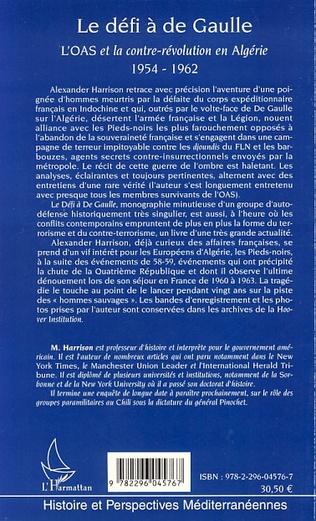 4eme Le défi à de Gaulle