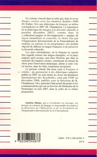 4eme Le français dans les aires créolophones
