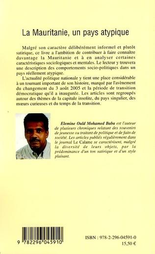 4eme La Mauritanie, un pays atypique