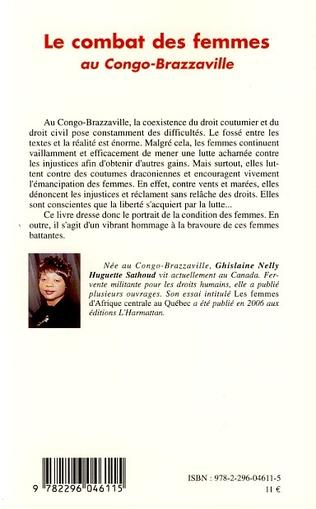 4eme Le combat des femmes au Congo-Brazzaville