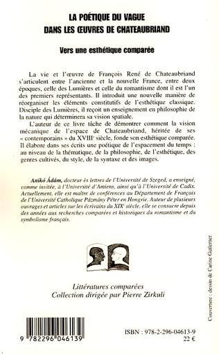 4eme La poétique du vague dans les oeuvres de Chateaubriand