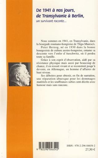 4eme De 1941 à nos jours, de Transylvanie à Berlin
