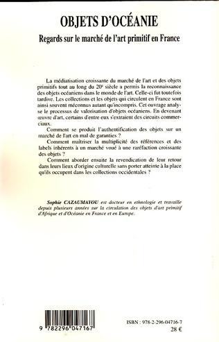 4eme Objets d'Océanie