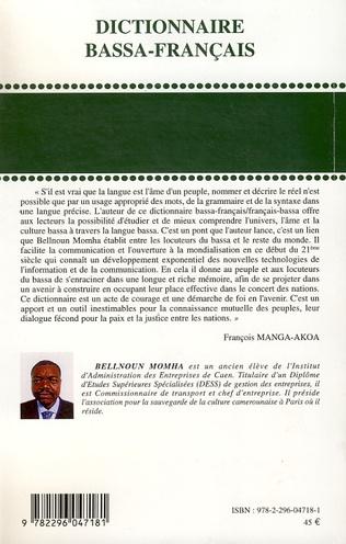 4eme Dictionnaire Bassa-Français